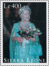 [The 95th Anniversary of the Birth of Queen Elizabeth the Queen Mother, 1900-2002, Typ BSD]
