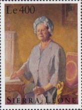 [The 95th Anniversary of the Birth of Queen Elizabeth the Queen Mother, 1900-2002, Typ BSE]