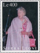 [The 95th Anniversary of the Birth of Queen Elizabeth the Queen Mother, 1900-2002, Typ BSF]