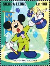 [Disney Circus Performers - Cartoon Characters, Typ BWN]