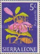 [Decimal Currency - Various Stamps Surcharged, type CB1]
