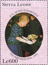 [The 70th Anniversary of the Birth of Queen Elizabeth II, Typ CCD]