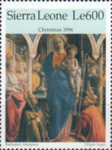 [Christmas - Religious Paintings, Typ CES]