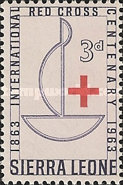 [The 100th Anniversary of Red Cross, type CG]
