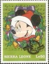 [The 70th Anniversary of the Birth of Mickey Mouse - Issues of 1997 - Overprinted