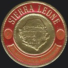 [Airmail - The 5th Anniversary of Independence - First Sierra Leone Gold Coinage Commemoration, Typ CR1]