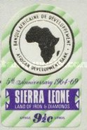 [Airmail - The 5th Anniversary of African Development Bank, Typ DP1]