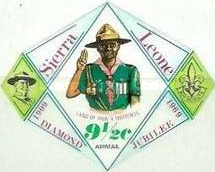 [Airmail - The 60th Anniversary of Boy Scouts in Sierra Leone, Typ DR1]