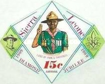 [Airmail - The 60th Anniversary of Boy Scouts in Sierra Leone, Typ DR2]