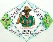 [Airmail - The 60th Anniversary of Boy Scouts in Sierra Leone, Typ DR3]