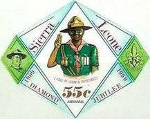 [Airmail - The 60th Anniversary of Boy Scouts in Sierra Leone, Typ DR4]