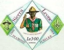 [Airmail - The 60th Anniversary of Boy Scouts in Sierra Leone, Typ DR5]