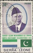 [The 100th Anniversary of the Birth of Muohammad Ali Jinnah, 1878-1948, Typ EG]