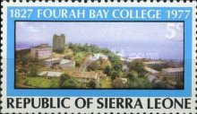[The 150th Anniversary of Fourah Bay College, Typ EI]