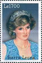 [The 5th Anniversary of the Death of Diana, Princess of Wales, 1961-1997, Typ EOY]