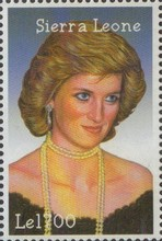 [The 5th Anniversary of the Death of Diana, Princess of Wales, 1961-1997, Typ EOZ]