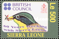 [The 60th Anniversary of British Council in Sierra Leone, Typ EUN]
