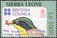 [The 60th Anniversary of British Council in Sierra Leone, Typ EUN1]