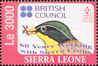 [The 60th Anniversary of British Council in Sierra Leone, Typ EUN3]
