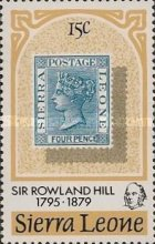 [The 100th Anniversary of the Death of Sir Rowland Hill, 1795-1879, Typ EW]