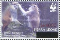 [WWF - Issue of 2004 Surcharged, Typ FCF1]