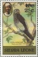 [Birds - Issues of 1980 Surcharged, type FE1]