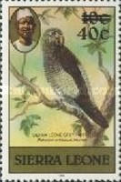 [Birds - Issues of 1980 Surcharged, type FE2]
