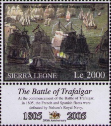 [The 200th Anniversary of the Battle of Trafalgar, Typ FFU]