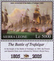 [The 200th Anniversary of the Battle of Trafalgar, Typ FFV]