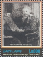 [Paintings - The 400th Anniversary of the Birth of Rembrandt Harmensz van Rijn, 1606-1669, Typ FLU]