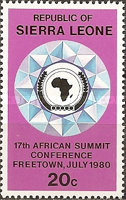 [African Summit Conference, Freetown, type FS]