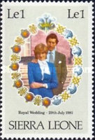 [Royal Wedding of Prince Charles and Lady Diana Spencer, type GR]