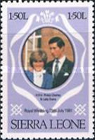 [Royal Wedding of Prince Charles and Lady Diana Spencer, type GU]