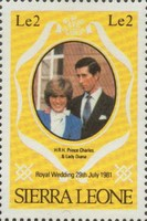[Royal Wedding of Prince Charles and Lady Diana Spencer, type GU1]