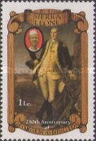 [The 250th Anniversary of the Birth of George Washington, 1732-1799, Typ HZ]