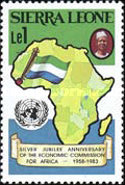 [The 25th Anniversary of Economic Commission for Africa, Typ IU]