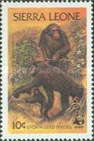 [Endangered Species - Chimpanzees, Typ IW]