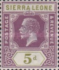 [King George V - New Watermark, Typ J8]