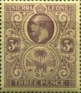 [King George V & Elephant, type L]