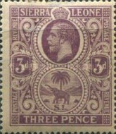 [King George V & Elephant, type L1]