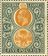 [King George V & Elephant, Typ L10]