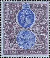 [King George V & Elephant, type L4]