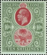 [King George V & Elephant, Typ L6]