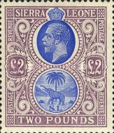 [King George V & Elephant, type L9]