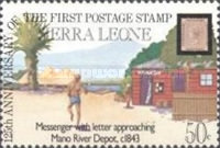 [The 125th Anniversary of First Postage Stamps, Typ LD]