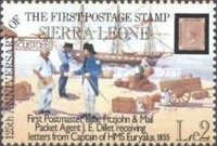 [The 125th Anniversary of First Postage Stamps, Typ LE]