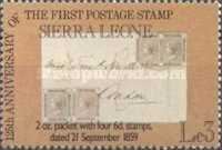 [The 125th Anniversary of First Postage Stamps, Typ LF]