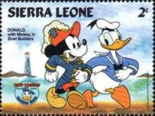 [The 50th Anniversary of the Birth of Donald Duck, Typ LN]