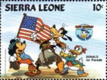 [The 50th Anniversary of the Birth of Donald Duck, Typ LR]