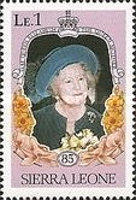 [The 85th Anniversary of the Birth of Queen Elizabeth the Queen Mother, 1900-2002, Typ MP]